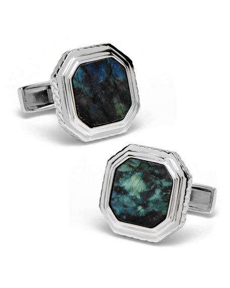 Labradorite Opus Cuff Links