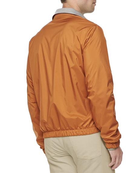 Windmate Reversible Bomber Jacket, Amber