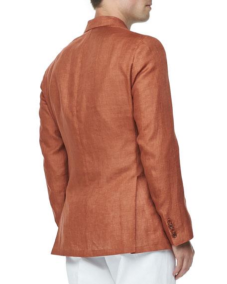 Sahara Melange Linen Blazer
