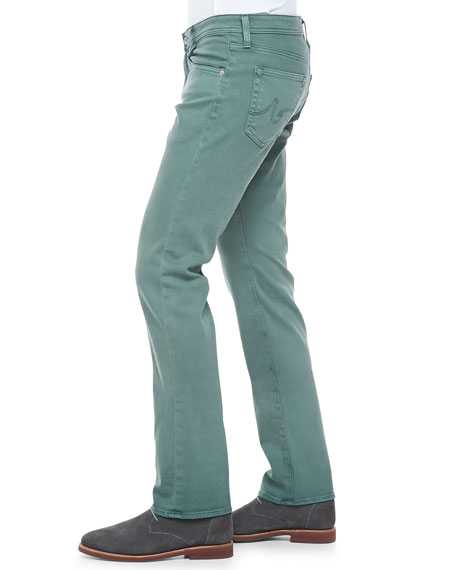 Matchbox Slim-Fit Jeans, Sage