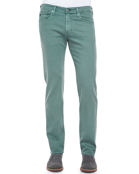 Matchbox Slim-Fit Jeans, Sage