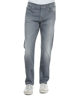 7 For All Mankind Slimmy Vesper Gray Jeans