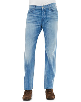 7 For All Mankind Standard Ivory Coast Jeans