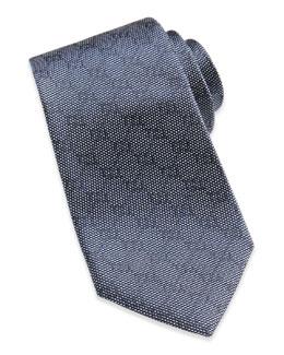 Gucci Woven GG Silk Tie, Blue