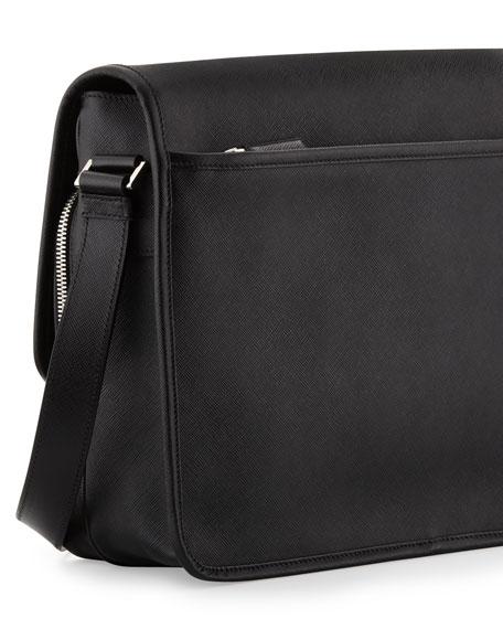 b89d58a42f Prada Men s Saffiano Leather Messenger Bag