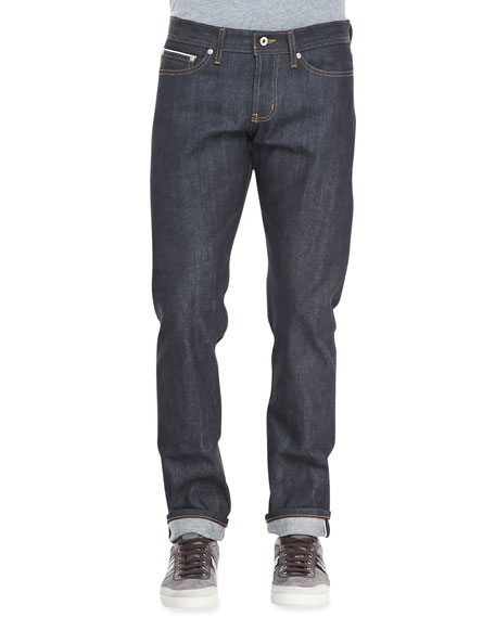 Naked and Famous Denim WeirdGuy Left Hand Indigo