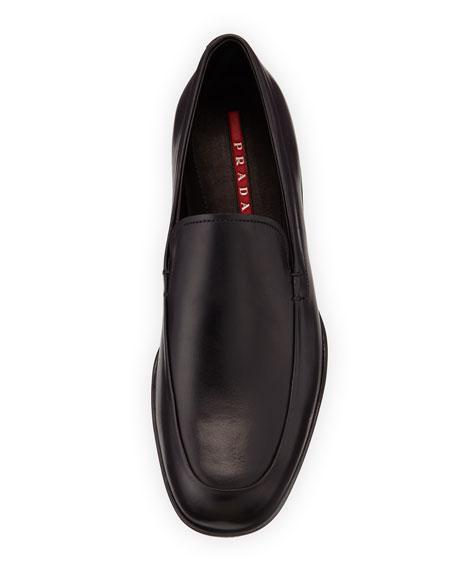 Venetian Soft Calfskin Loafer, Black