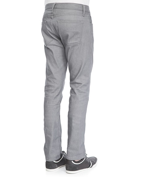 Kane Stretch Raw Silver Jeans