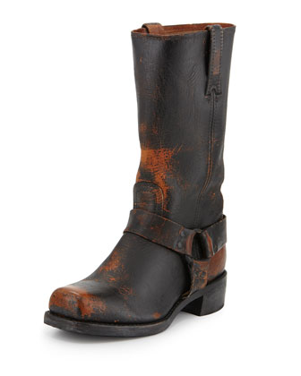 Frye Harness 12R Painted Stone Boot