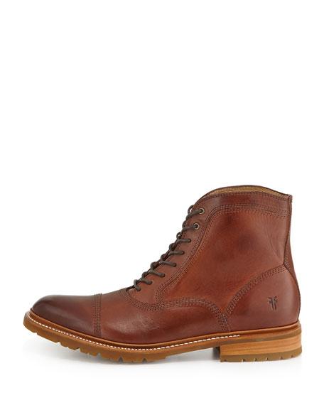 James Balmoral Lug Boot, Redwood
