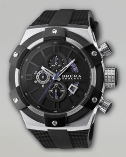 Brera Supersportivo Watch, Black