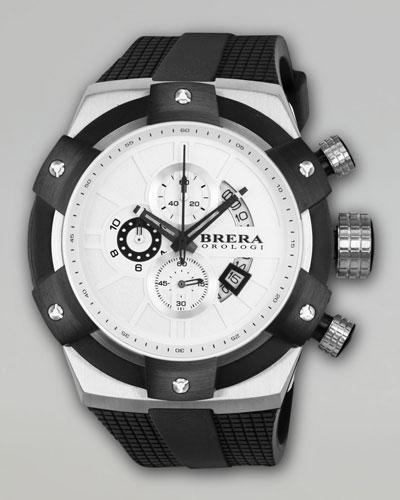 48mm Supersportivo Watch, White