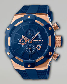 Brera Supersportivo Watch, Blue