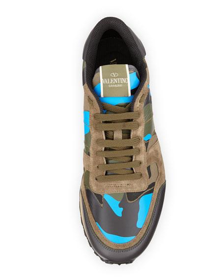 e62e9759dbb81 Valentino Men s Rockrunner Camo Sneaker