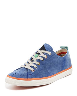 Paul Smith Lokai Low-Top Sneaker, Blue