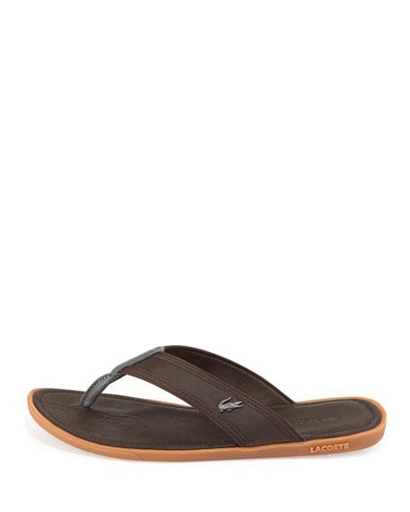 7c0fbf45b4ff Lacoste Carros Men s Thong Sandal