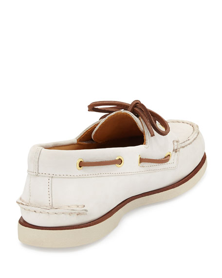 Gold Cup Authentic Original Boat Shoe, Ivory