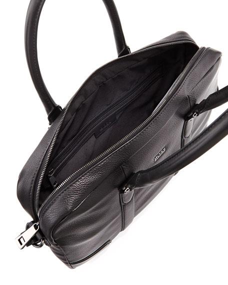 Boss Hugo Boss Morval Leather Briefcase b78eb3e33c46d