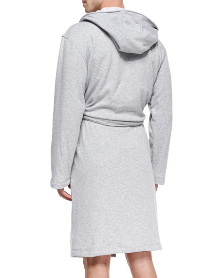 Lightweight Alsten Jersey Robe, Gray