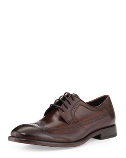 John Varvatos Star USA Dearborn NYC Longwing Brogue, Brown