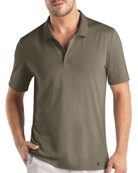 Night & Day Polo Shirt, Khaki