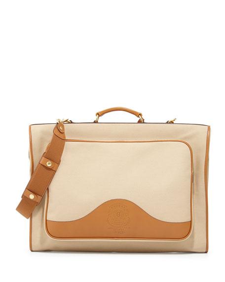 Packet Twill Garment Bag, Khaki