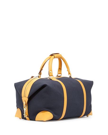 Cavalier II Men's Twill Duffel Bag, Navy