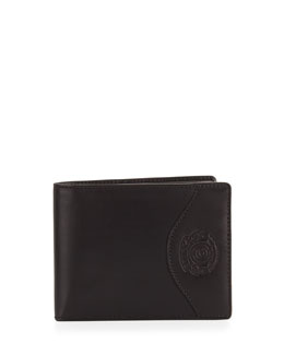 Ghurka Wallet with Transit Pass Case, Black