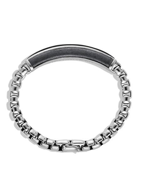 Exotic Stone ID Bracelet with Black Onyx