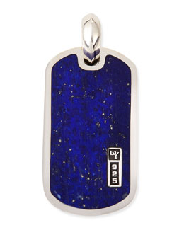 David Yurman Exotic Stone Tablet with Lapis Lazuli
