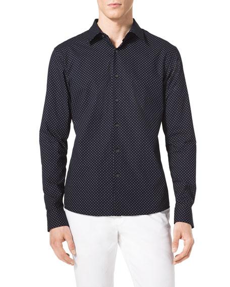 Pindot Cotton Shirt