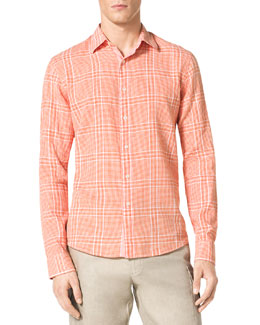 MICHAEL KORS  Check Shirt