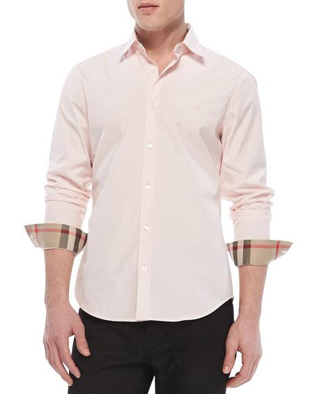 burberry pink shirt