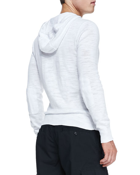 Pullover Hoodie Sweater, White