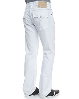 True Religion Ricky White Denim Jeans