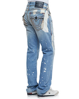 True Religion Ricky Super T Sail Away Jeans