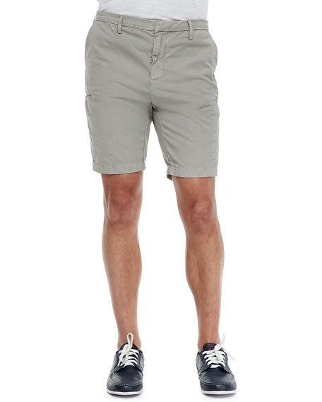 Slim-Fit Cargo Shorts, Tan