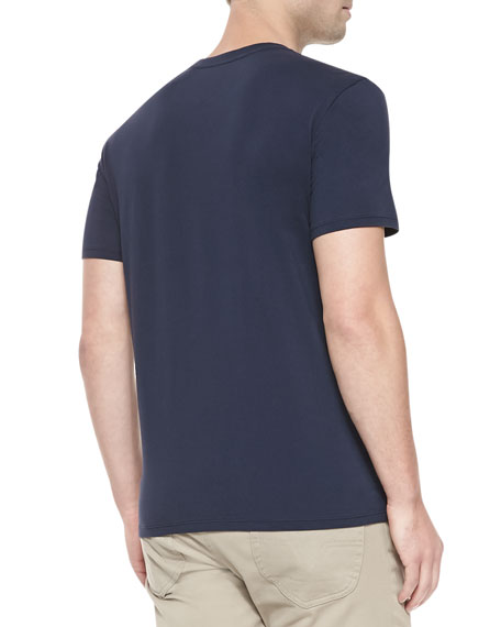 Short-Sleeve Jersey Tee, Navy
