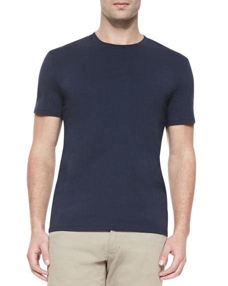 Short-Sleeve Jersey T-Shirt, Navy