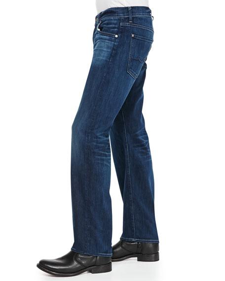 Luxe Performance: Austyn Brilliant Blue Jeans