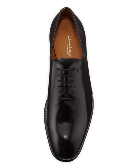 Lace-Up Oxford, Black