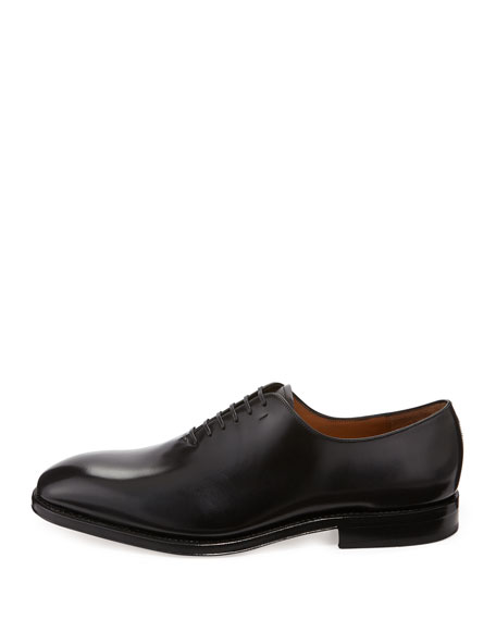 Men's Lace-Up Oxford, Black