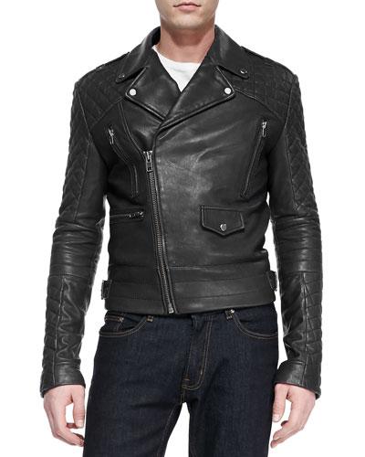 Andrew Marc X Richard Chai Phoenix Asymmetrical Leather