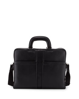Salvatore Ferragamo Los Angeles Single-Gusset Briefcase