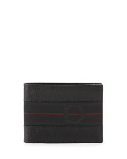 Salvatore Ferragamo Revival II B-Fold Wallet, Black