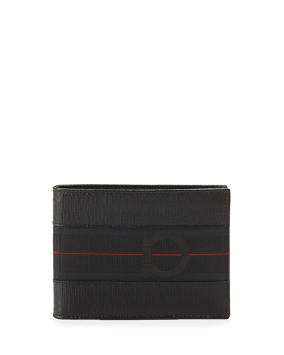 Salvatore Ferragamo Revival II B-Fold Wallet, Black