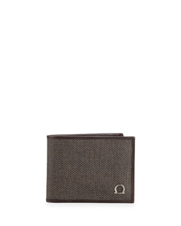 Salvatore Ferragamo New Form Bifold Wallet, Brown