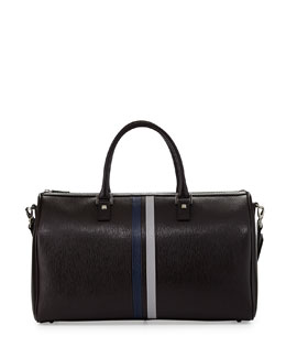 Salvatore Ferragamo Revival Men's Weekender Bag, Navy