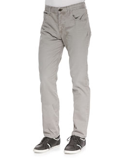 Rag & Bone Brushed Twill Jeans, Cement