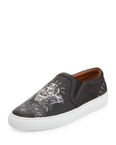 Elmerinda Printed Skate Shoe